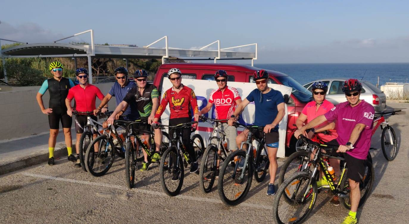 BDO EMEA Bike Ride 2019 Malta